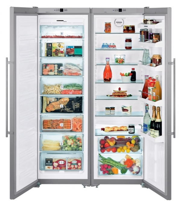 Liebherr Side By Side Fridge Freezer